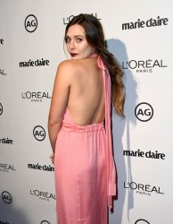 Elizabeth Olsen - Marie Claire's 2017 Image Maker Awards in West Hollywood 1/10/17