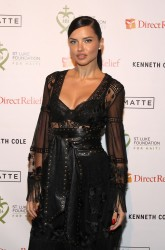 Adriana Lima - 2017 St. Luke Foundation For Haiti Benefit in NYC 1/10/17