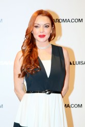 Lindsay Lohan - Firenze4ever 14th Edition Party hosted by LuisaViaRoma in Florence, Italy 1/9/17