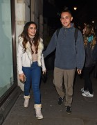 AmyLeigh Hickman seen leaving the Palladium 2