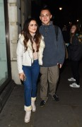 AmyLeigh Hickman seen leaving the Palladium 1