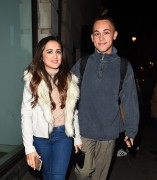AmyLeigh Hickman seen leaving the Palladium 3