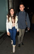 AmyLeigh Hickman seen leaving the Palladium 4