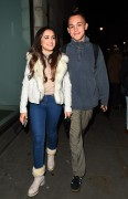 AmyLeigh Hickman seen leaving the Palladium 5