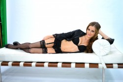 Candace Bailey - AOTS Black Lingerie Shoot