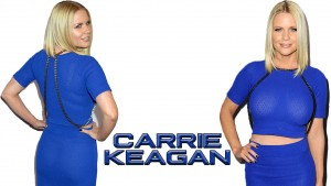 Carrie Keagan - Blue Dress Wallpapers x 3