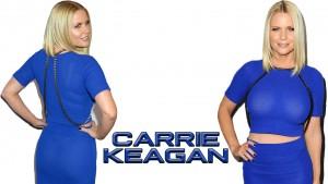 Carrie Keagan - Blue Dress Wallpapers x 3