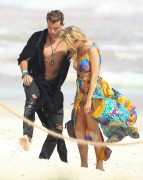 Paris Hilton | Candids on the Beach in Tulum | January 11 | 15 pics