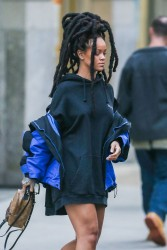 Rihanna - Out in NYC 1/12/17