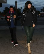 Kylie Jenner - Out for dinner at Kabuki Japanese restaurant in LA 1/11/17