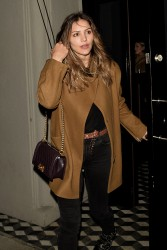 Katharine McPhee - Leaving Craig's in West Hollywood 1/12/17