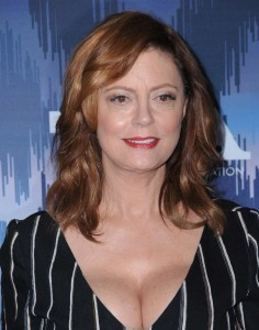 Susan Sarandon - Cleavage At 2017 FOX Winter TCA All Star Party in Pasadena (1/13/17)