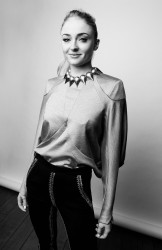 Sophie Turner - The BAFTA Tea Party Portraits by William Callan - January 07, 2017