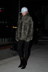 Hailey Baldwin - Out in NYC 1/15/17