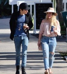 Hilary Duff - Out for lunch in Studio City 1/15/17