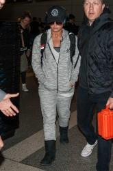 Demi Lovato - At LAX Airport 1/15/17
