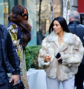 Kim Kardashian - Out for lunch in NYC 1/16/17
