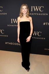 "Rosamund Pike - IWC Schaffhausen at SIHH 2017 ""Decoding the Beauty of Time"" Gala Dinner in NYC 1/17/17"