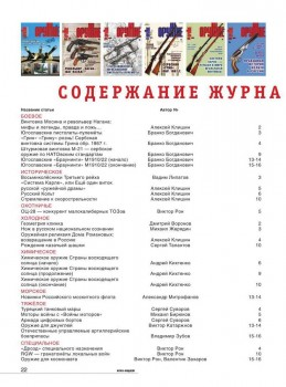 Подшивка журнала - Оружие №1-16 (январь-декабрь 2016) PDF