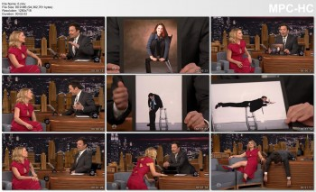CLAIRE DANES *upskirt, butt, legs* Late Night with Jimmy Fallon - 2017 JAN 13 - [Request Fill]