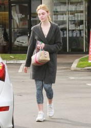 Elle Fanning - Out in Studio City 1/18/17