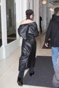 Bella Hadid - Visiting Givenchy Studios in Paris 1/20/17