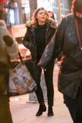 Chloe Grace Moretz - Out in NYC 1/19/17