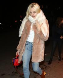 Pixie Lott - Out in London 1/17/17