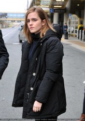 Emma Watson Arriving in Washington, D.C. - 1/20/17
