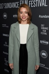 Aubrey Plaza - 'Ingrid Goes West' Premiere during the 2017 Sundance Film Festival 1/20/17