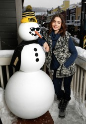 Lily Collins - The IMDb Studio at the 2017 Sundance Film Festival 1/21/17