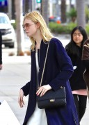 Elle Fanning - Shopping in Beverly Hills 1/21/17