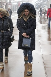 Elizabeth Olsen - Out in Park City, Utah 1/21/17