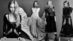 Amanda Seyfried, Emma Watson, Kristen Stewart, Natalie Portman, Olivia Wilde, Selena Gomez (Wallpapers) 6x