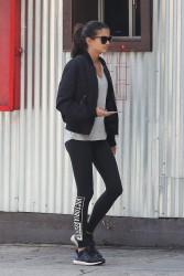 Sara Sampaio - Leaving Hugo's Cafe in West Hollywood 1/23/17
