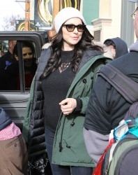 Laura Prepon - Out in Park City, Utah 1/22/17