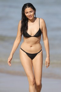Jessica Gomes - enjoying an afternoon swim in Sydney - 27.01.2017