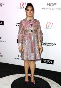 Salma Hayek - Harper's Bazaar 150 Most Fashionable Woman Cocktail Party In Los Angeles (1/27/17)
