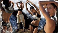 Alessandra Ambrosio, Olivia Munn, Rihanna, Sarah Hyland, Selena Gomez (Wallpapers) 6x