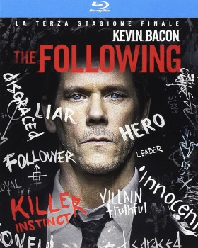 The Following - Stagione 3 (2015) [3-Blu-Ray] Full Blu-Ray 95Gb AVC ITA DD 2.0 ENG DTS-HD MA 5.1 MULTI