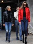 Gigi & Bella Hadid - Out in NYC 1/29/17