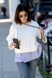 Lucy Hale - Out in Beverly Hills 1/31/17