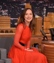 Dakota Johnson - On The Tonight Show in NYC 1/31/17