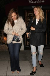 Jessica Alba - Night out at Matsuhisa In Beverly Hills 2/1/17