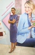 Maria Sharapova - Introduces new Sugarpova chocolates, Moscow Feb 1, 2017 + adds