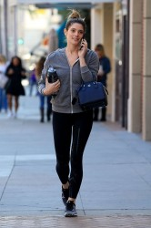 Ashley Greene - Going to a gym in Beverly Hills 2/1/17