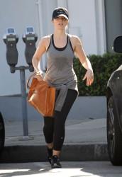 Minka Kelly - Leaves a Gym in West Hollywood 02/01/2017