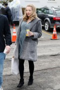 Amanda Seyfried -  On the set of 'First Reformed' in NYC 2/1/17
