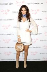 Victoria Justice - Rebecca Minkoff Fashion Show 2/04/17