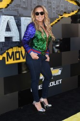 Mariah Carey - 'The LEGO Batman Movie' Premiere in Westwood 2/4/17